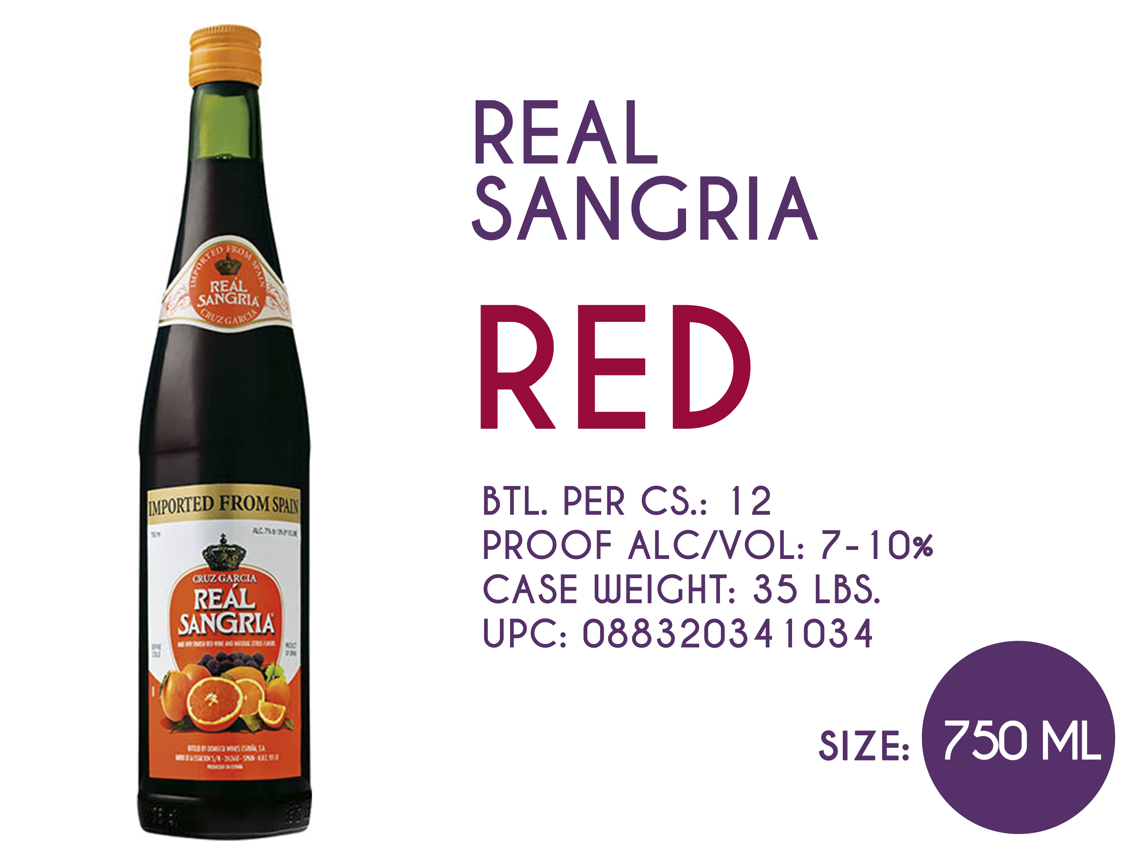 Real Sangria Red 750